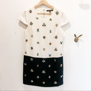 Cynthia Steffe short bejewelled cocktail dress
